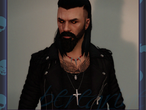 Long Hair Undercut For MP Male FIVEM Ready 1.0