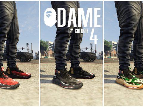 MP Adidas Bape Dame 4 1.0