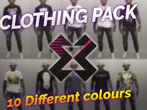 MP CLOTHEPACK [Fivem Ready]