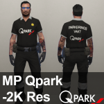 MP Swedish Qpark Parkeringsvakt [Fivem Ready] 1.0