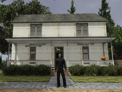 Michael Myers house from Halloween (1978) [Menyoo/Map Editor] 2.0