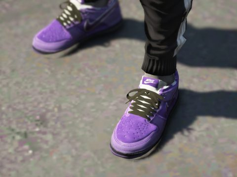 Nike SB Purple Lobster (Pink Laces, White Laces, Black Laces) Franklin 1.0