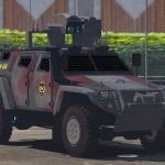 OTOKAR COBRA II Turkish SWAT [Replace] [ELS / non-ELS] v1