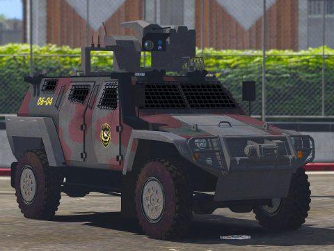 OTOKAR COBRA II Turkish SWAT [Replace] [ELS / non-ELS] v1