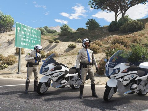 Pack Highway Patrol (+ Ped) [Replace | ELS] 1.0