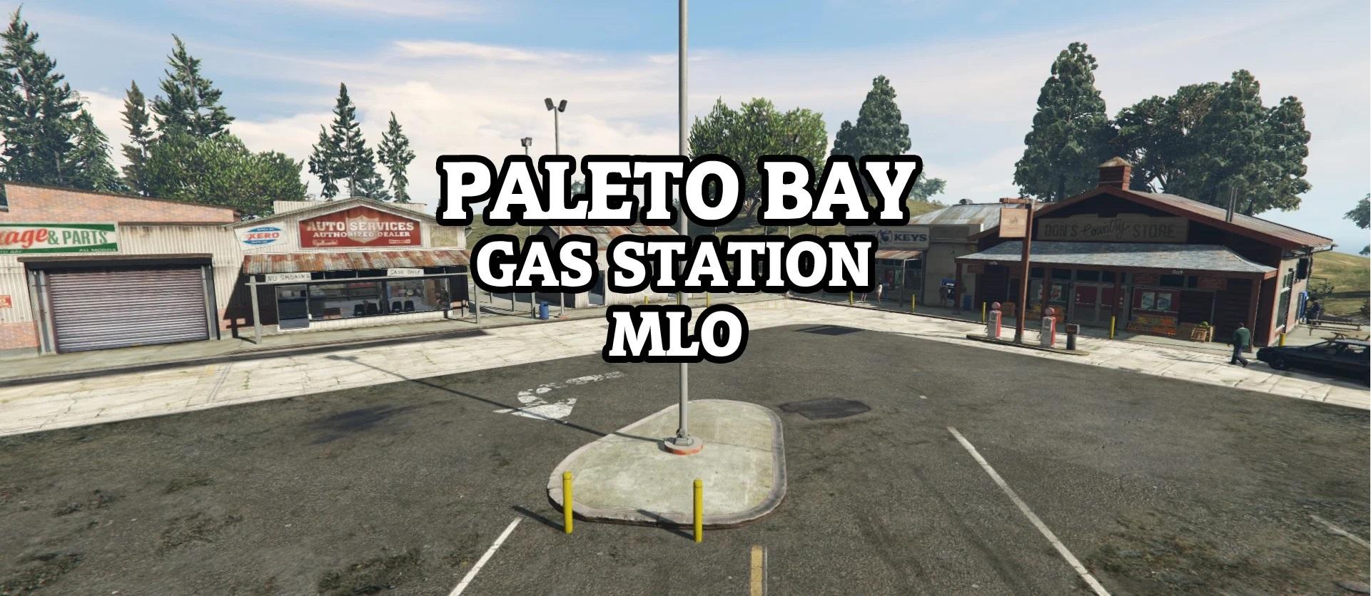 [MLO] Paleto gas station [SP / FiveM] 1.0.1