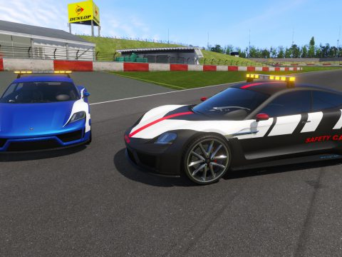 Pfister Neon Safety Car [Add-On   Template] 1.1