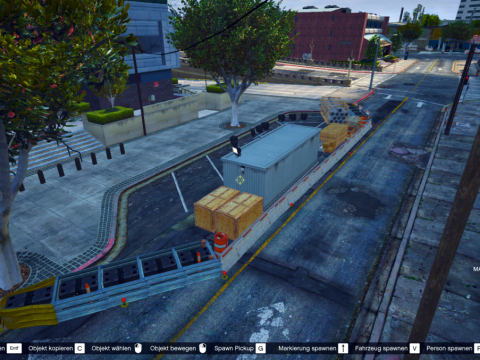 Police construction site (Map Editor) 1.0