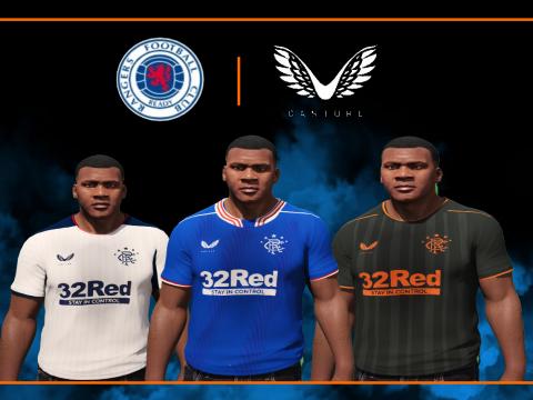 Rangers X Castore 2020 / 21 Kits 55