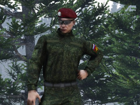 Russian EMR camo uniform for mp-freemode