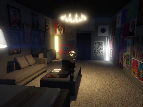 Small Designer Apartment Interior 1.0