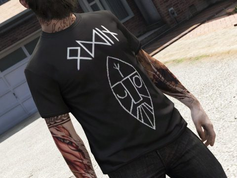 T-Shirt Descended From Odin [Freemode Male] 1.0