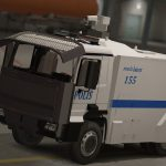 TOMA Turkish Police Riot vehicle [REPLACE][ELS] v2