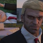 Trevor president outfit