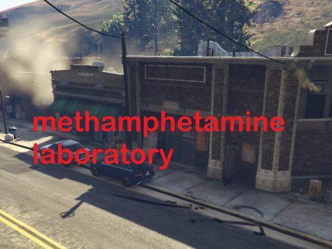 Methamphetamine laboratory [FIVEM/YMAP] 1.0