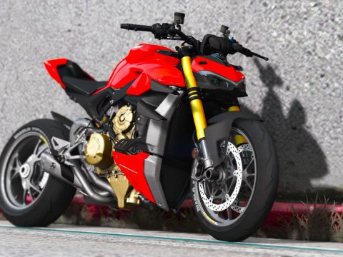2021 Ducati V4S StreetFighter [Add-On | Tuning | Template] V2.0b