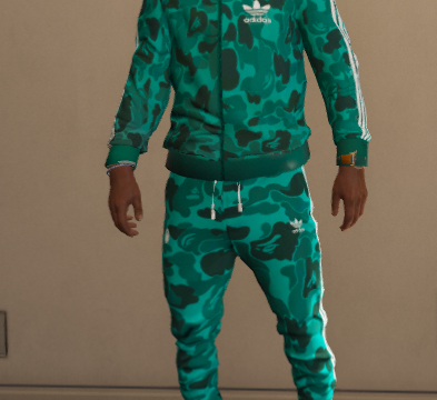 Adidas Camo tracksuit - Retextured 1.0