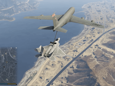 Aerial Aircraft Refueling (In Air) 1.1