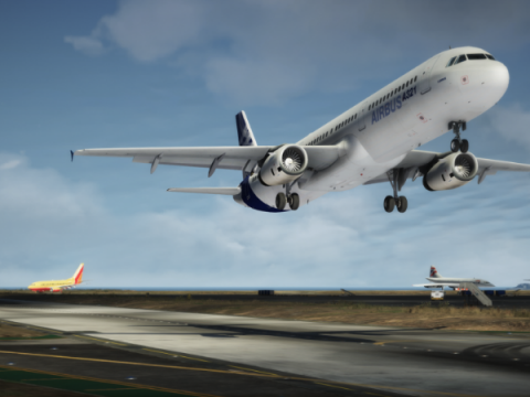 Airbus A320 Family IAE Engines package [Add-On | Package I Liveries]