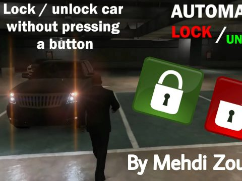 Automatic Lock / Unlock Car, Car lock system, lock and unlock vehicle without pressing a button 1.0