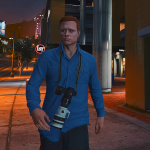 Camera on the neck (For mp male) 0.1