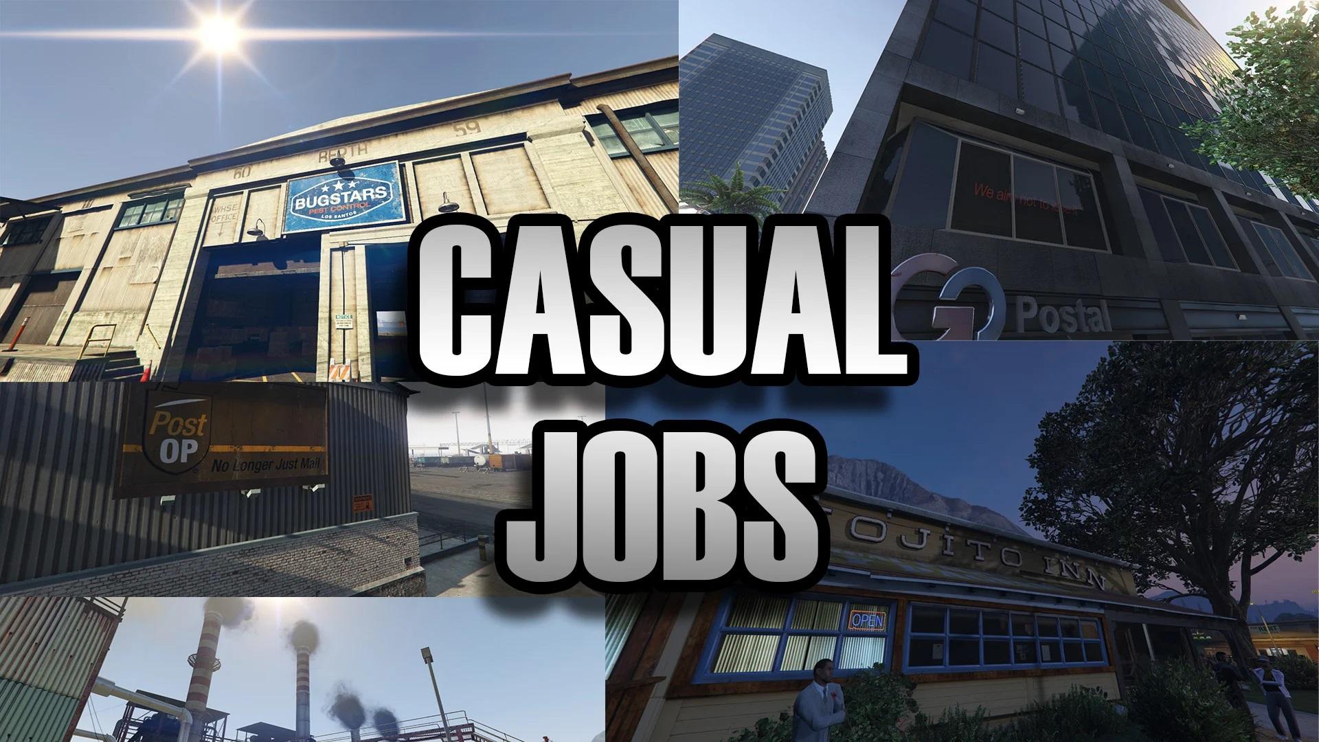 """Casual Jobs (""""Rabbit Holes"""") 1.0"""