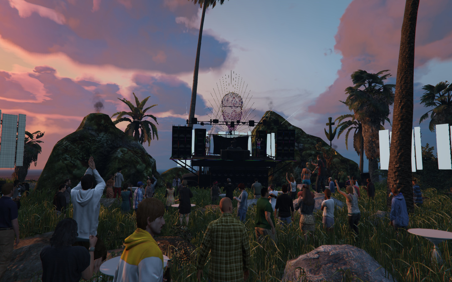 DJ Concert on Island [MapEditor] 1.0