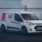DPD Ford Connect Van [Replace | Livery | Templated] 1.1