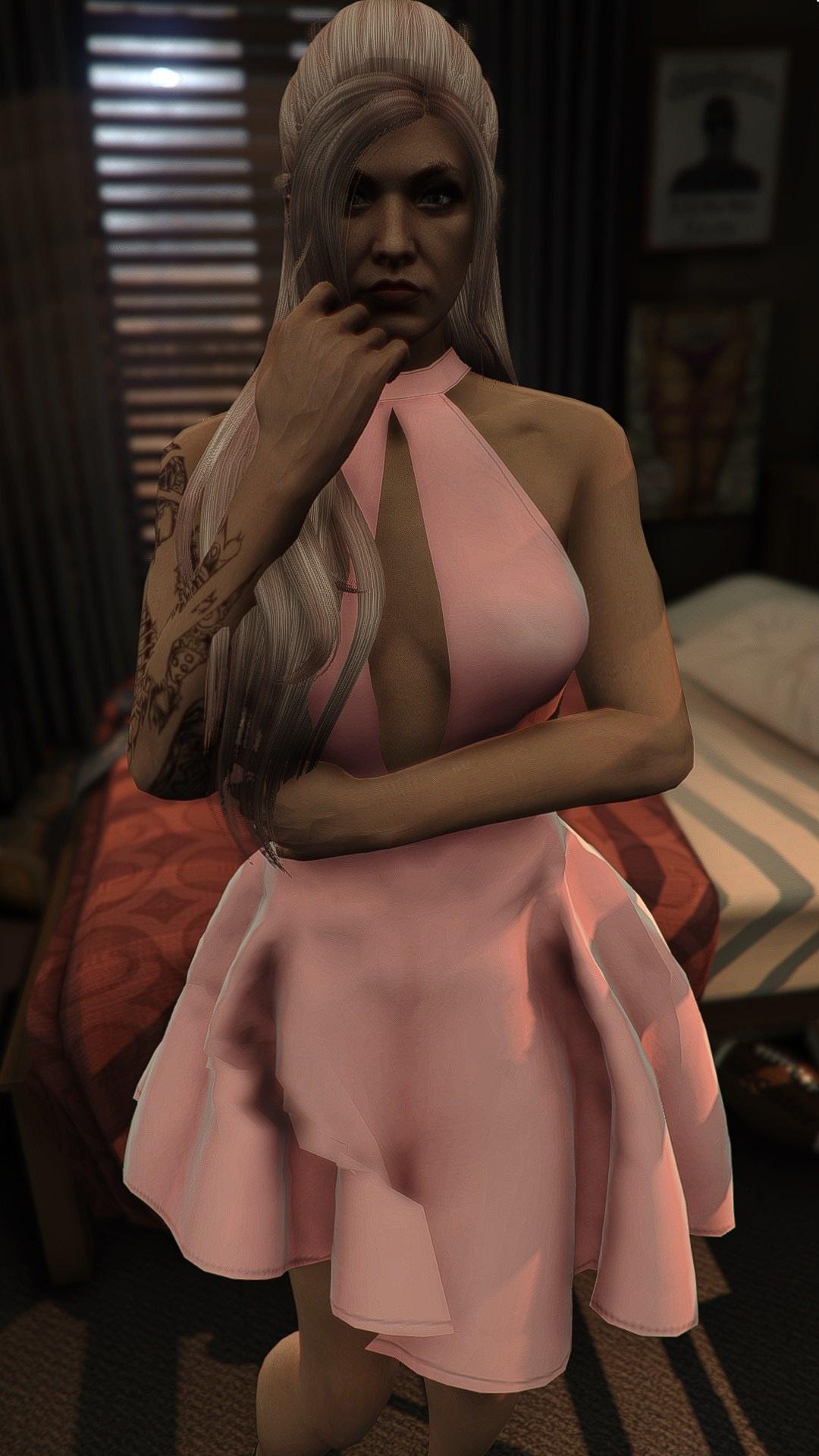 Fluffy Dress for MP Female 1