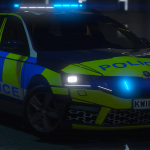 Generic Police Skoda Octavia Estate 2018 [ELS]