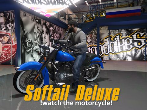 Harley-Davidson Softail Deluxe [Add-On] 1.1