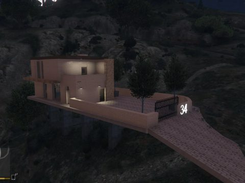 Hill house [YMAP | Menyoo] 1.0