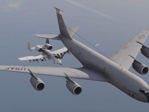 KC-135R Stratotanker [Enterable interior | Add-On] 1.0