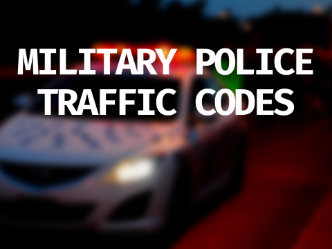 LSPDFR+ Military Police Traffic Offense 1.0