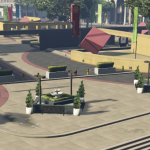 Legion Square Meeting Point Decoration with Lights [YMAP / FiveM] 1.0