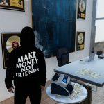 Make Money Not Friends Hoodie for MP Male 1.0
