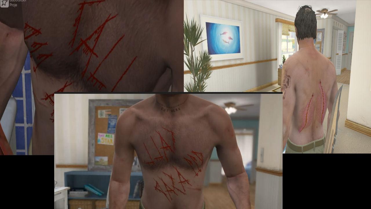 Missing organs skin replacer for Trevor 1.0