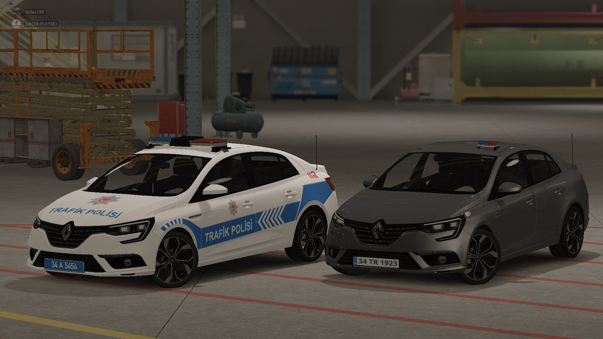 Renault Megane 4 / IV Turkish Police Pack [REPLACE][ELS]
