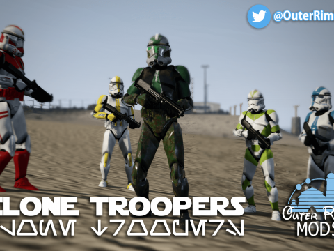 Rezzed Clone Troopers Pack [Add-On] 6.0