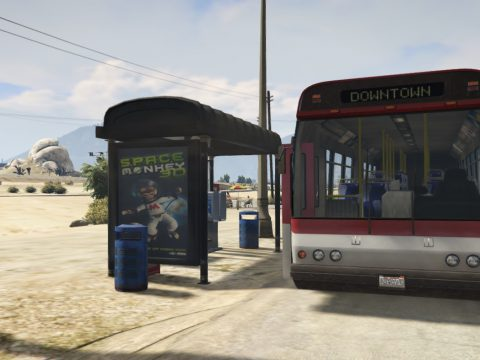 Sandy Shores Bus Stops [YMAP] 1.0