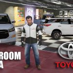 Showroom TOYOTA Dealership [Menyoo] 1.0