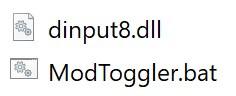 Toggle Script Hook V in a single batch file v0.2
