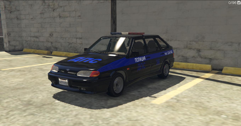 VAZ 2114-2115 LADA POLICE