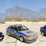 VAZ-2114-2115 LADA Samara 2 Police [Add-On | Extras] 1.0
