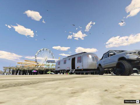 Whiteliner Caravan [Menyoo] 1.1