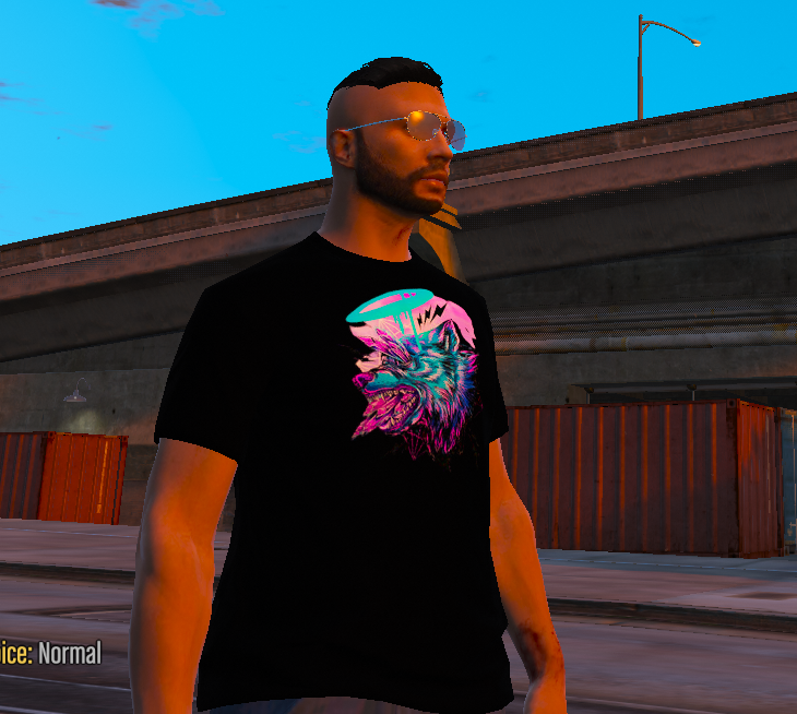 Wolf T-Shirt MP/SP Male 1.0