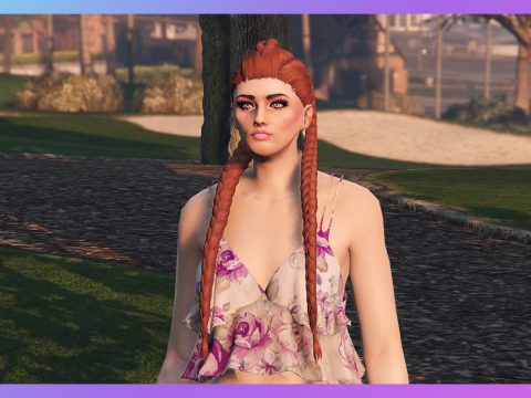 2-braids long hairstyle for MP Female 1.0