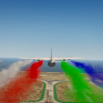 Aircraft Smoke (Changeable Color and Size) for Plane and Helicopter 1.0