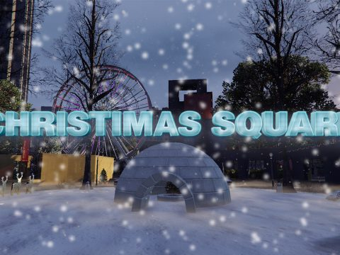 Christmas Square [SP | OIV / FiveM] 1.0