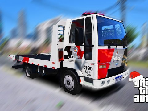 Ford Cargo 815 Reboque PMESP [Add-On / Replace] [ELS] [FiveM] 1.0